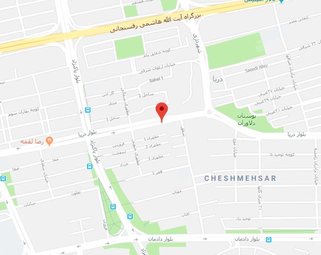 آدرس در سعادت آباد غرب تهران