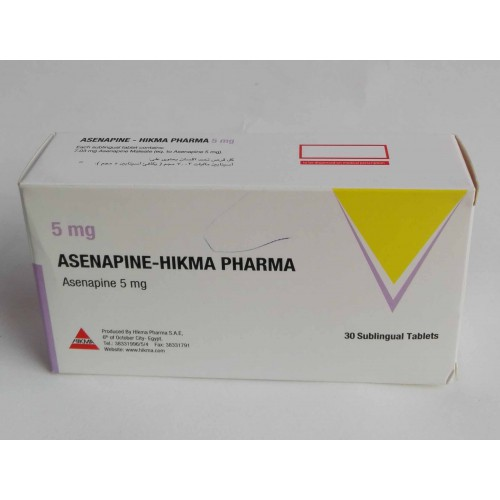 مصرف آسناپین و عوارض آن