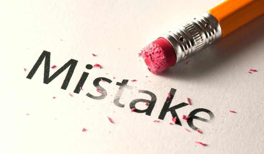 اصلاح اشتباهات